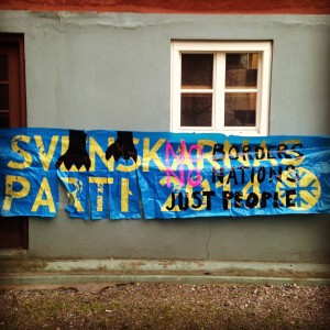 #angryanimals protest against svenskarnas parti